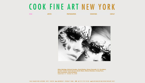 Cook fine art New York