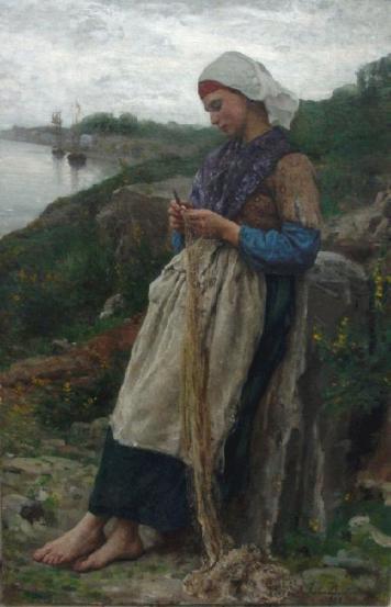 Breton Femme Pecheur